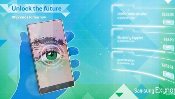 Samsung Biyometrik Kamera patenti ile Apple'a ciddi bir fark atacak!