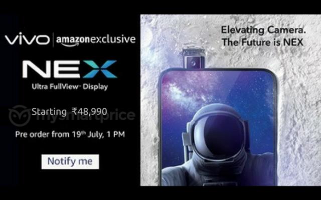 Vivo Nex Hindistan pazarına giriyor! Peki nasıl giriyor?