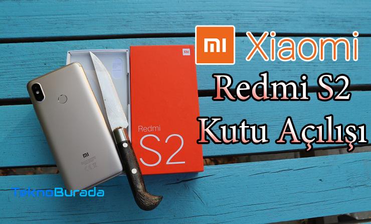 Xiaomi Redmi S2 kutu açılışı – Fiyatının fazlasını veriyor mu?