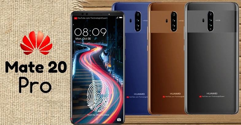 Huawei Mate 20 Pro için sürpriz ekran iddiası!
