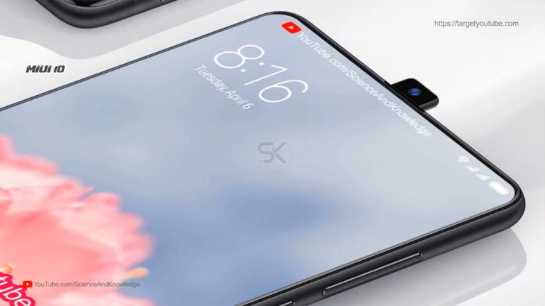 Xiaomi Mi Mix 3 konsepti mükemmel görünüyor