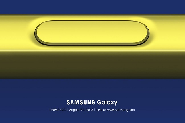 Galaxy Note 9 tanıtılıyor