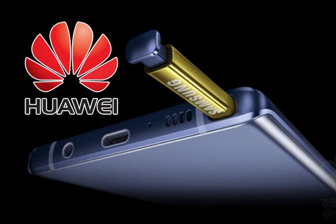 Huawei Samsung Galaxy Note 9'a Twitter üzerinden giydirdi! Kavga çıkacak!