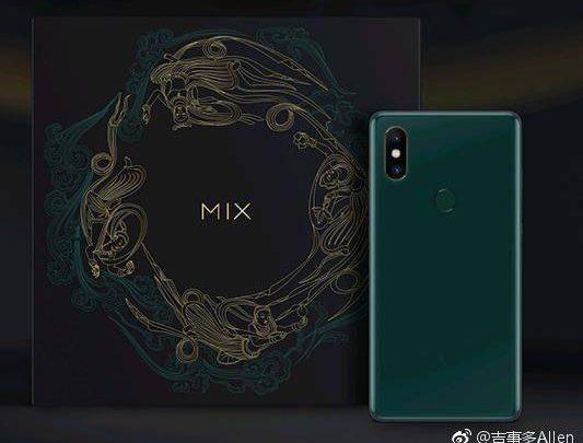 Xiaomi Mi Mix 2S'in keşke benim olsa diyeceğiniz zümrüt yeşili rengi çıktı