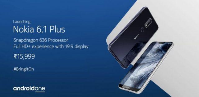 Nokia X6 nam-ı diğer Nokia 6.1 satışa sunuluyor!