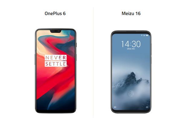 Meizu 16 ve OnePlus 6 Karşı Karşıya!