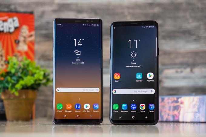 Samsung şaşırdı! Galaxy Note 8 ve Galaxy S9 için erken gelen güncellemeler