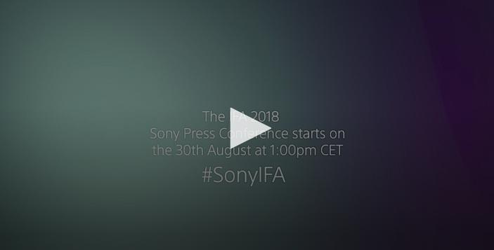 Sony IFA 2018 etkinliğini canlı izleyin!