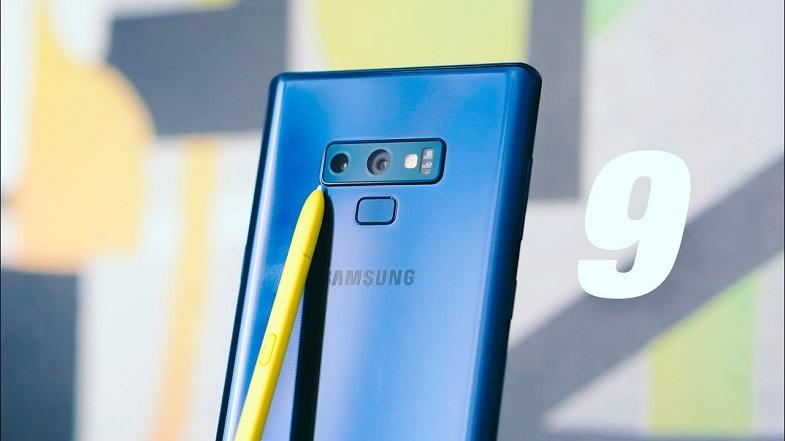 Samsung Galaxy Note 9 kamera güncellemesi başladı