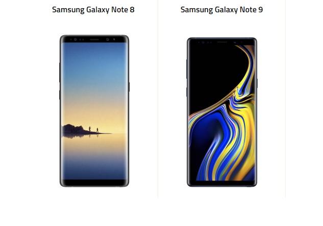 Samsung Galaxy Note 9 ve Galaxy Note 8 Karşı Karşıya!
