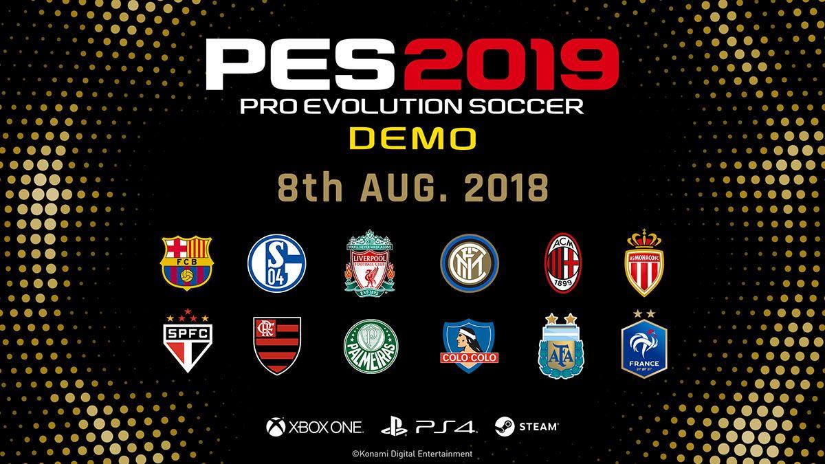 PES 2019 Demosu yayımlandı!! Nasıl indirilir ?