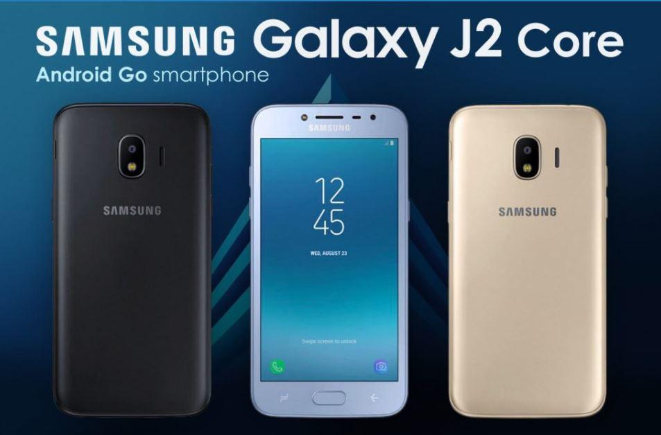 Android Go'lu Samsung Galaxy J2 Core Sızdırıldı!