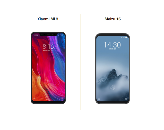 Meizu 16 ve Xiaomi Mi 8 Karşı Karşıya!