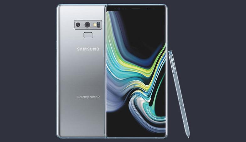 Gümüş Galaxy Note 9 tanıtıldı! Yeni renk Türkiye'ye gelecek mi?