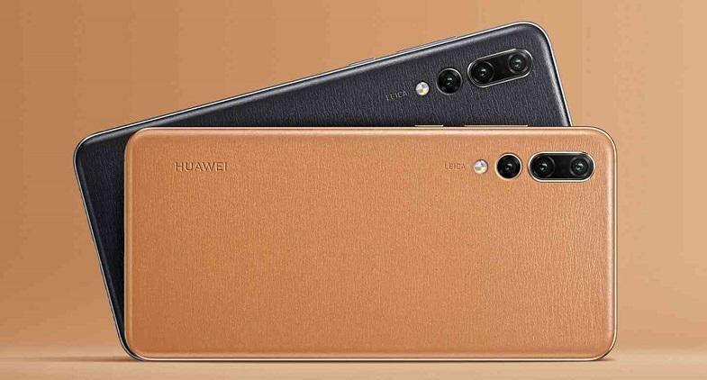 Deri arka kapaklı yeni bir Huawei telefon ortaya çıktı