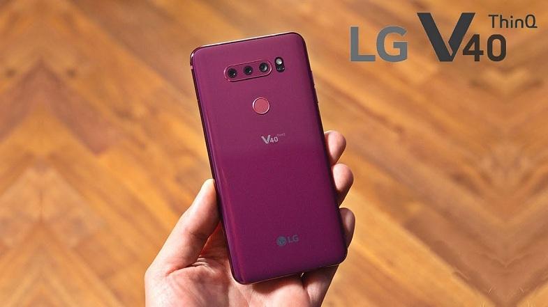 Şimdi de LG V40 ThinQ fiyatı belli oldu!