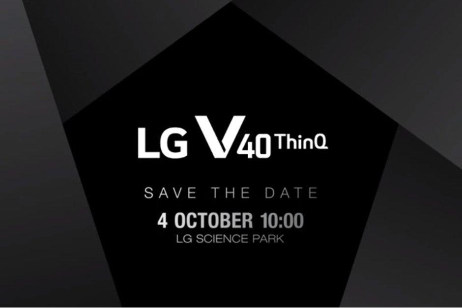 LG V40 tanıtım