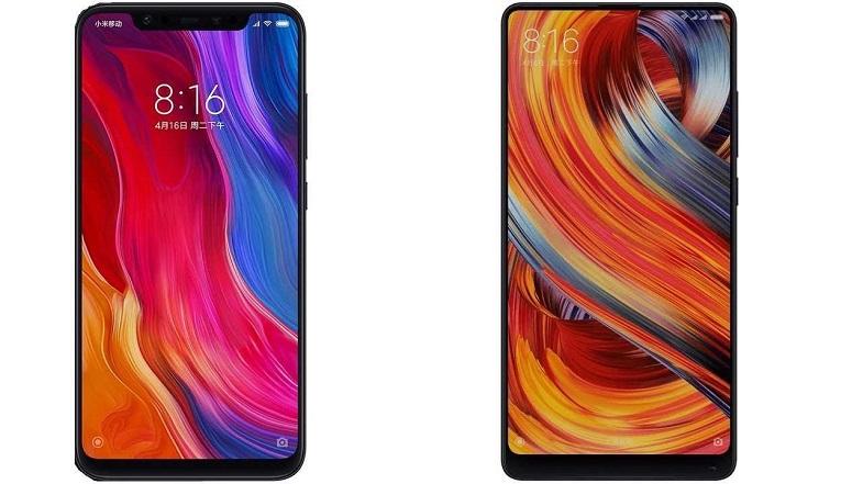 Xiaomi Mi 8 ve Mi Mix 2S resmi Türkiye fiyatları çok fena