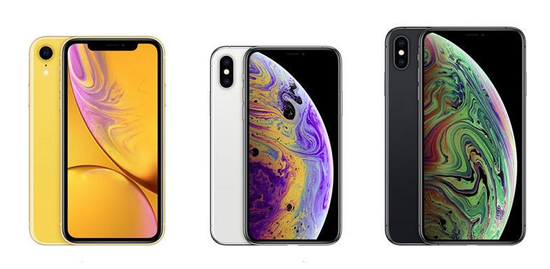 iPhone XS, iPhone XS Max ve iPhone XR fiyatı belli oldu