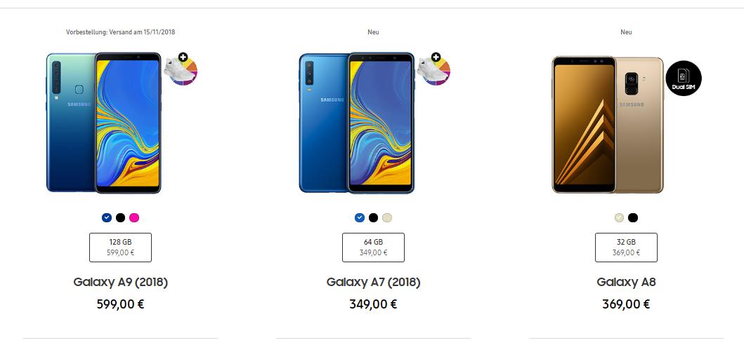 Samsung Galaxy A9 2018 Türkiye fiyatı ne olacak?