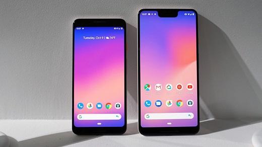 Google Pixel 3 neden çentikli değil de Pixel 3 XL çentikli?