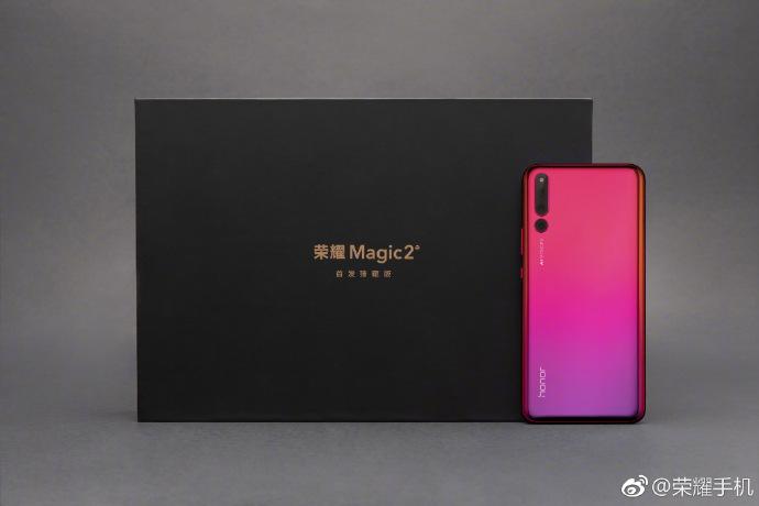 Honor Magic 2 renk seçenekleri belli oldu! Degrade'ye doyacaksınız!