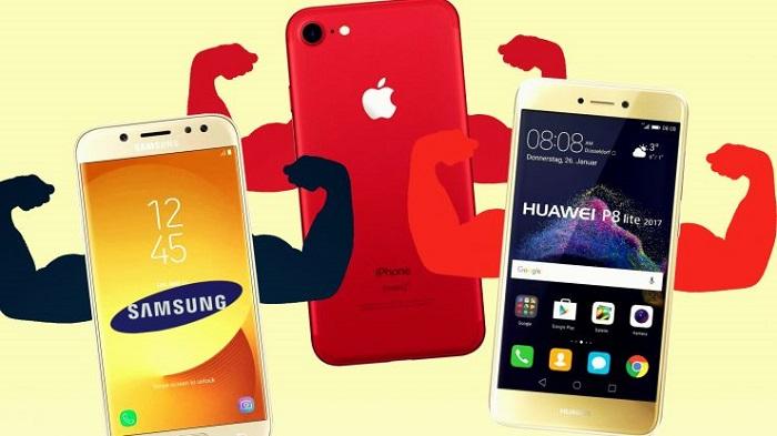 2018 yılında kim ne kadar telefon satış yaptı? İşler kötü reis!!!