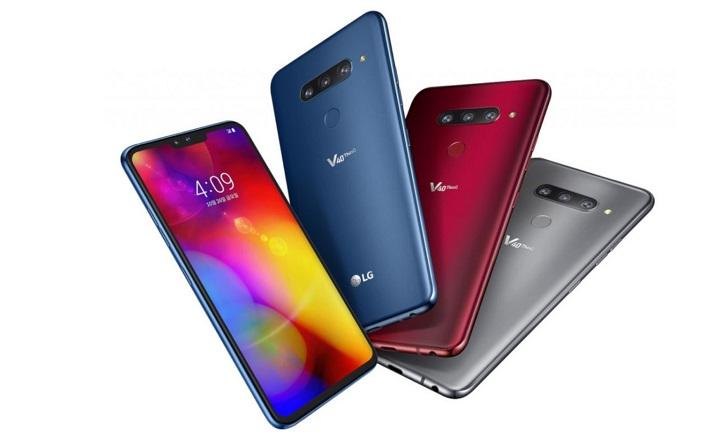 LG V40 ThinQ resmi olarak tanıtıldı! İşte 5 kameralı telefonun tüm detayları