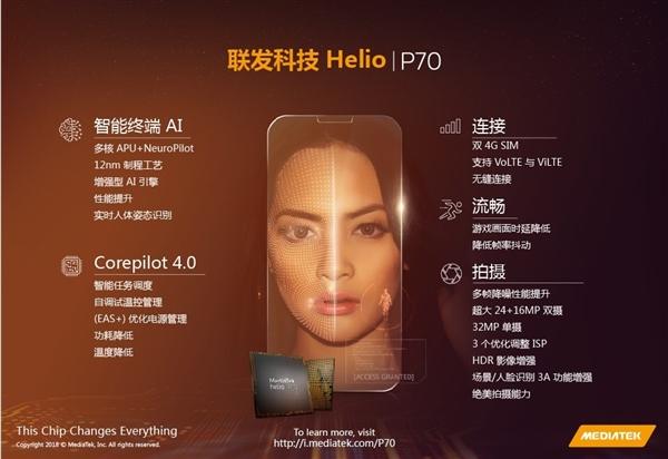 MediaTek Helio P70 tanıtıldı! Snapdragon 675'e inat…