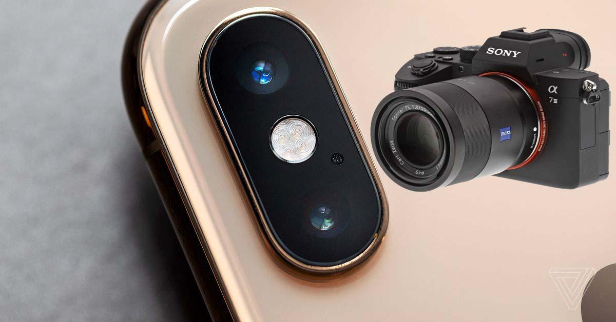 Sony A7 3 ve iPhone XS Max karşılaştırma! Şaşıracaksınız!!!