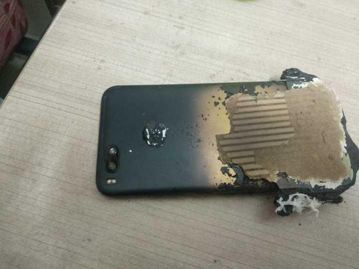 Xiaomi Mi A1 patladı! Sende mi Xiaomi?