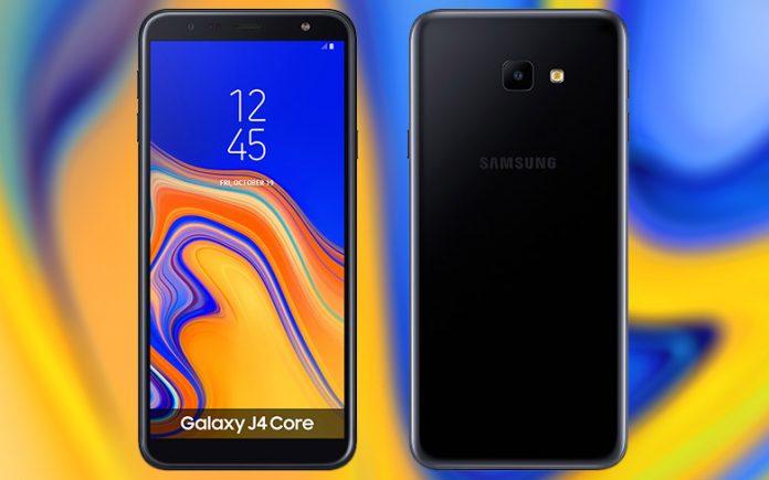 Samsung'un Android Go telefonu Galaxy J4 Core tanıtıldı