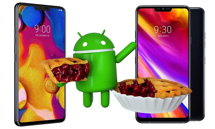 LG G7 ve LG V40 için Android Pie güncellemesi başlıyor!