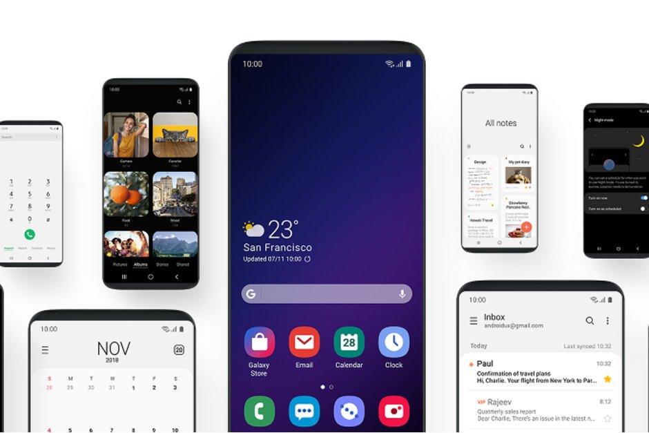 Galaxy S8 ve Galaxy Note 8 One UI arayüzünü almayacak