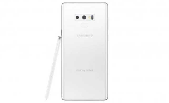 Yeni bir sayfa gibi bembeyaz Samsung Galaxy Note 9 satışa çıkıyor!