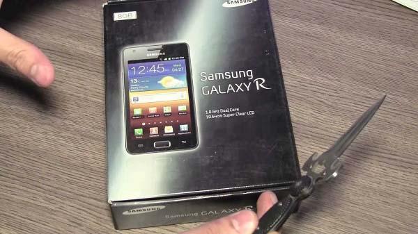 Samsung Galaxy R serisi hayata geçiyor! B planı mı?