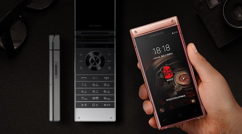 Çift ekranlı Samsung W2019 resmiyet kazandı