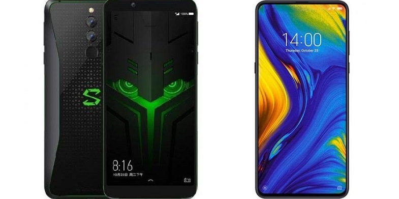 Xiaomi Mi Mix 3 ve Black Shark Helo Avrupa'ya geliyor