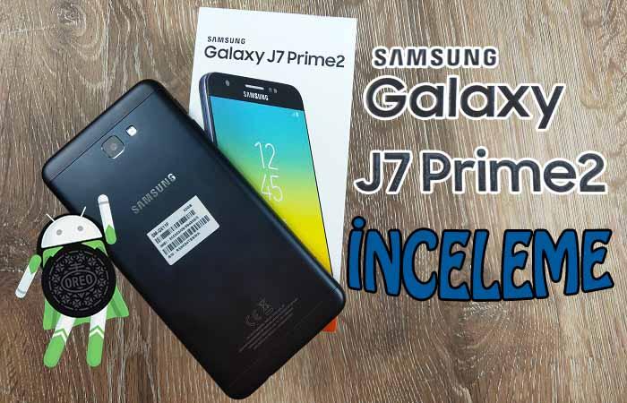 Değişen tek şey hiçbir şey Galaxy J7 Prime 2 inceleme!
