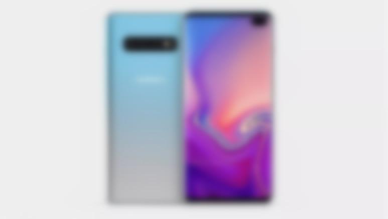 Samsung Galaxy S10 Plus reklam görseli sızdı!