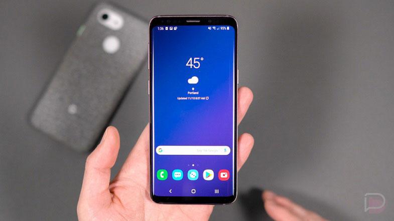 Galaxy S9 ve S9 Plus için yılın ilk güncellemesi başladı