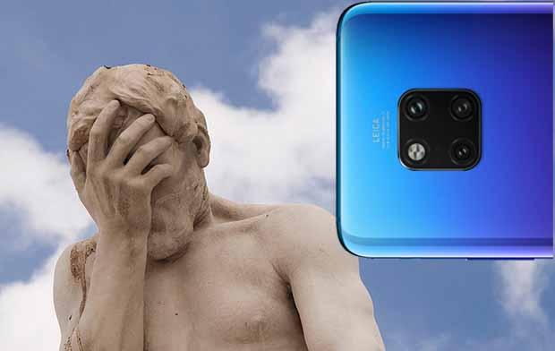 Huawei Mate 20 Pro güncelleme sonrasında şebeke seçimi yok oldu!