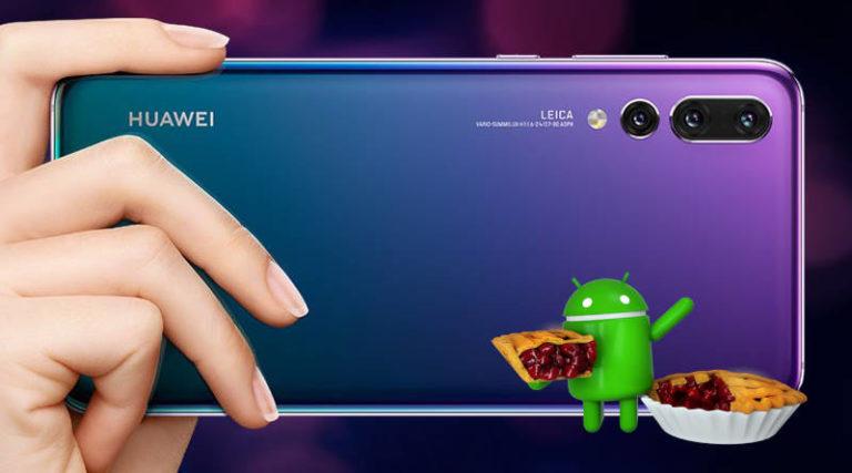Huawei P20 Android Pie güncellemesi resmen başladı! Peki ya Türkiye?