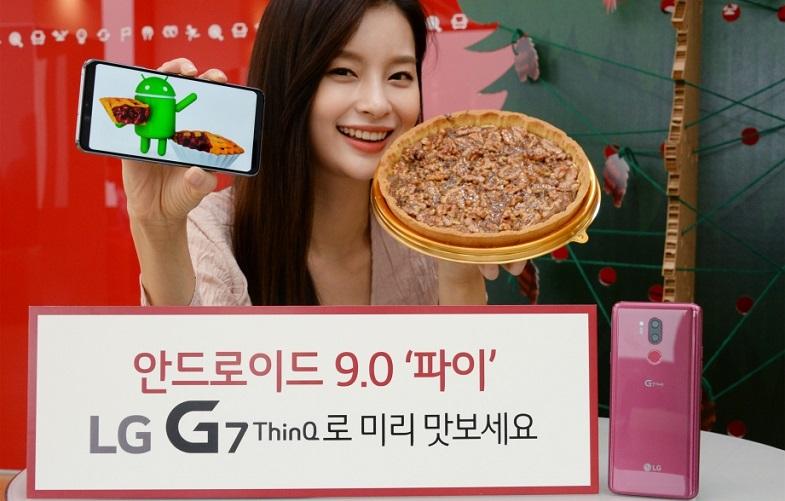 Androdi 9 Pie sonrası LG G7 ThinQ nasıl görünecek?