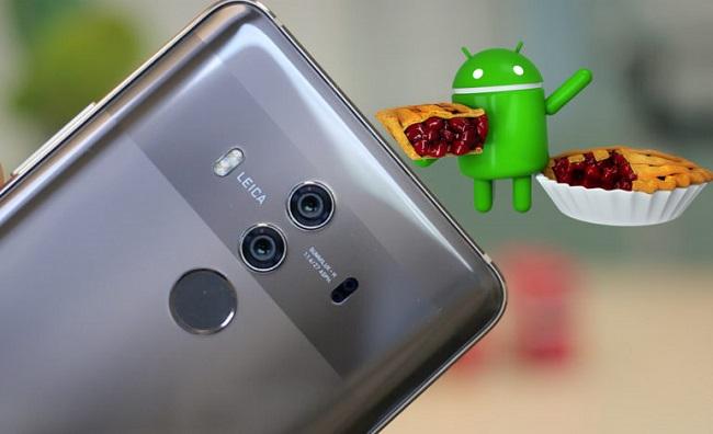 Huawei Mate 10 Pro için Android 9 Pie güncellemesi başladı
