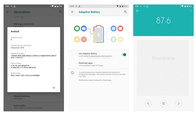 Xiaomi Mi A1 Android 9 pie