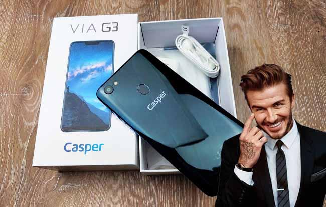 Casper Via G3 kutu açılışı! En yakışıklı yerli karşınızda!!!