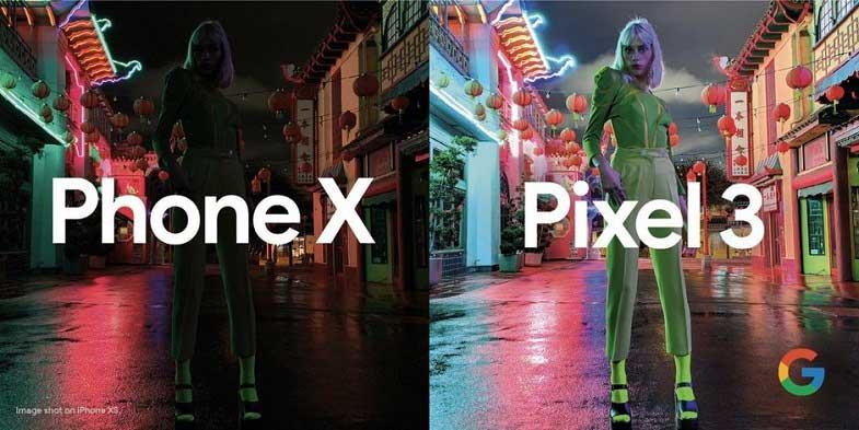 Google Pixel 3 gece çekimi iPhone XS'i ağlattı