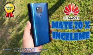 Huawei Mate 20 X inceleme