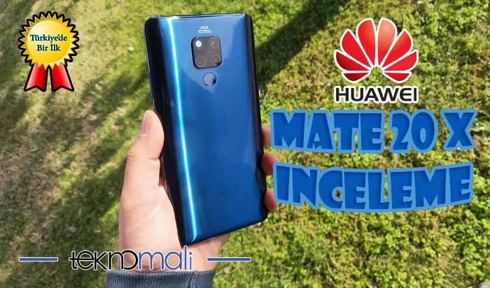 Huawei CEO'sunun telefonu Huawei Mate 20 X inceleme